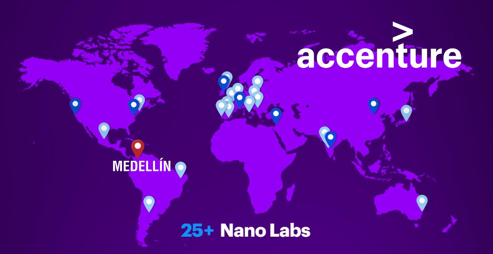 Nanolabs Accenture en Medellín