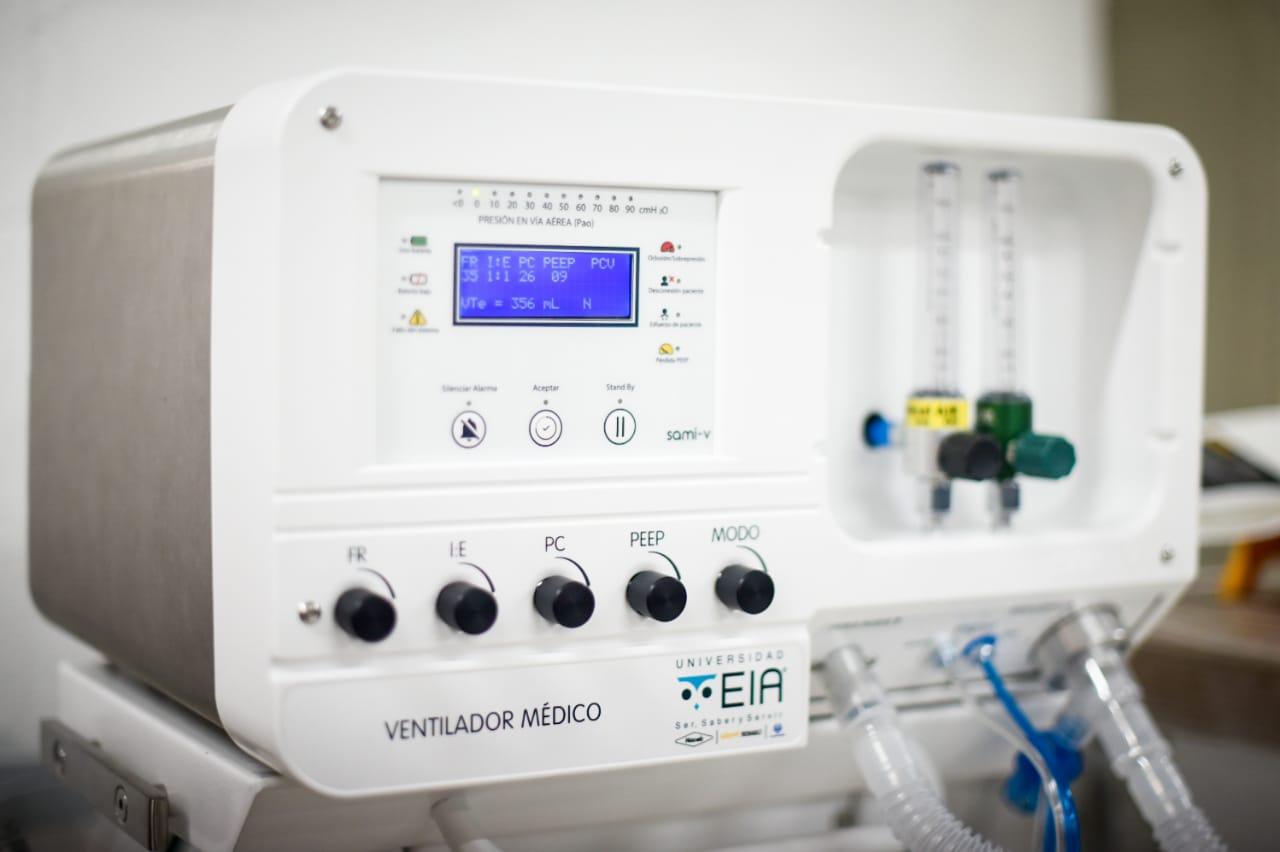 Respiradores mecánicos #InnspiraMED reciben el aval del Invima para pruebas clínicas en humanos
