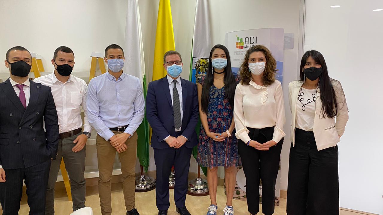 Visita de la Embajada de israel en Medellín